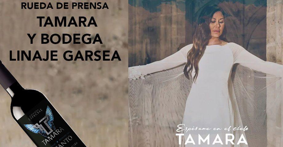 Rueda de prensa Tamara y Bodegas Linaje Garsea